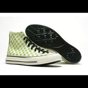 New converse Green Happy camper high top Sneaker
